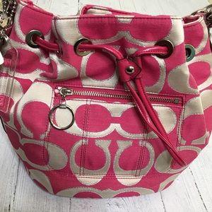 Coach Poppy Cinch Bag NWT